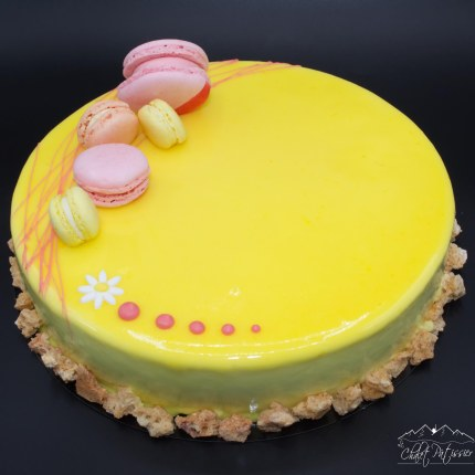 Entremets Yellow